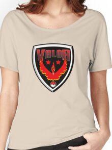 Pokemon Go! Team Valor Shield Women's Relaxed Fit T-Shirt