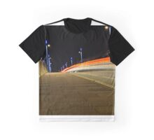 Itchen Bridge Light Trails Graphic T-Shirt