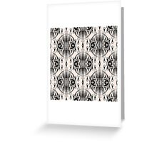 Patterns modern backgrounds Art Deco Greeting Card