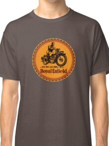 Royal Enfield vintage British Motorcycles Classic T-Shirt
