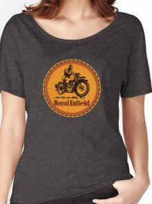 Royal Enfield vintage British Motorcycles Women's Relaxed Fit T-Shirt