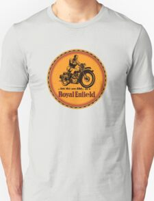 Royal Enfield vintage British Motorcycles Unisex T-Shirt