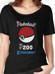 Pokemon Pokeball Pokemart Ad Women's Relaxed Fit T-Shirt