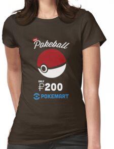 Pokemon Pokeball Pokemart Ad Womens Fitted T-Shirt