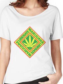 Liberate Marijuana Women's Relaxed Fit T-Shirt