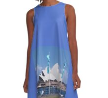 Shiny Sunny Sydney A-Line Dress