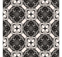 Patterns modern backgrounds Art Deco Photographic Print