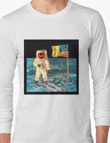 Moon Walk - Andy Warhol Long Sleeve T-Shirt