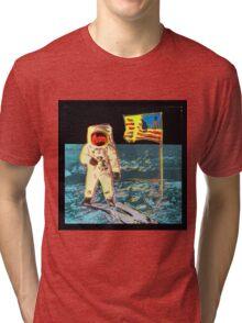 Moon Walk - Andy Warhol Tri-blend T-Shirt