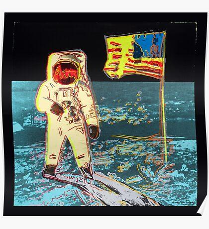 Moon Walk - Andy Warhol Poster