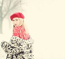 Lady in Red - Fashion Photography by Ruta Rudminaite