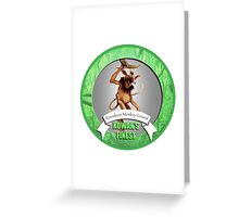 Star Wars Kowakian Monkey Lizard Greeting Card