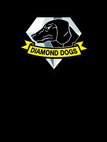 Metal Gear Solid V - Diamond Dogs by arunsundibob