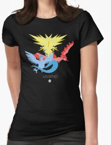 Pomemon Type - Legend Womens Fitted T-Shirt