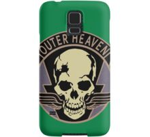 Metal Gear Solid V - Outer Heaven (Black) Samsung Galaxy Case/Skin