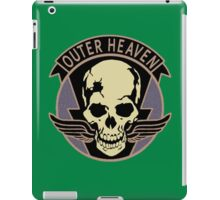 Metal Gear Solid V - Outer Heaven (Black) iPad Case/Skin