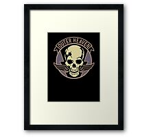 Metal Gear Solid V - Outer Heaven (Black) Framed Print