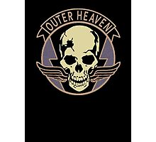 Metal Gear Solid V - Outer Heaven (Black) Photographic Print