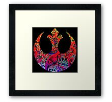 Paisley Rebel Framed Print