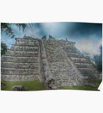 Mayan Ruin Poster