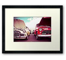 Two Great Cars Framed Print