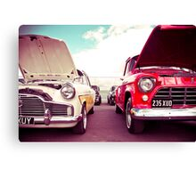 Two Great Cars Canvas Print