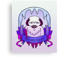 Imma Wampa Your Butt Canvas Print