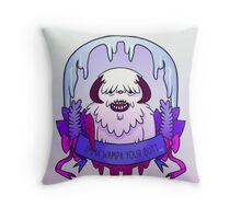 Imma Wampa Your Butt Throw Pillow