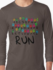 Stranger Things (run) Long Sleeve T-Shirt