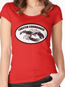 Lobster Commander Women's Fitted Scoop T-Shirt
