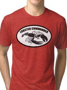Lobster Commander Tri-blend T-Shirt