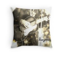 "hooyoosay ""Bye bye Johnny"" Throw Pillow"