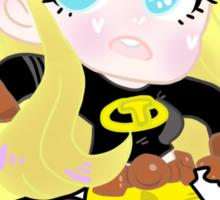 Teen Titans    Terra Sticker