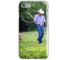 Roping Warm Up iPhone Case/Skin