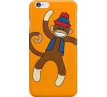 Super Cute Sock Monkey  iPhone Case/Skin