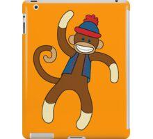 Super Cute Sock Monkey  iPad Case/Skin