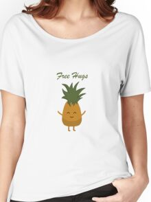 Free Hugs Pineapple Women's Relaxed Fit T-Shirt