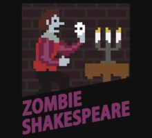Zombie Shakespeare - Retro Nintendo by bestnevermade