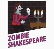 Zombie Shakespeare - Retro Nintendo Kids Clothes