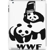 WWE pandas iPad Case/Skin