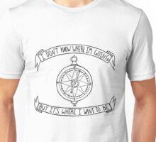 Fireworks Compass Unisex T-Shirt