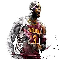 james lebron Photographic Print