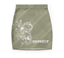 MonStar - Brown Plaid Mini Skirt