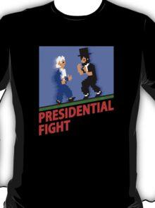 Presidential Fight! - Retro Nintendo T-Shirt