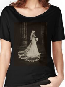 Dead Bride (sepia) Women's Relaxed Fit T-Shirt