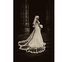 Dead Bride (sepia) Photographic Print