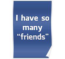 """Facebook """"Friends"""" Poster"""
