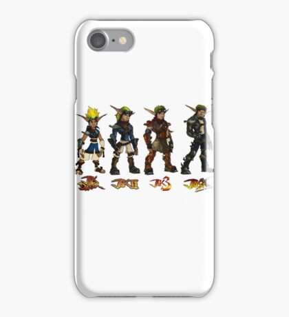 Jak and Daxter Saga - Full Colour Sketched iPhone Case/Skin