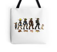 Jak and Daxter Saga - Full Colour Sketched Tote Bag