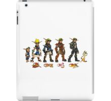 Jak and Daxter Saga - Simplified Colours iPad Case/Skin